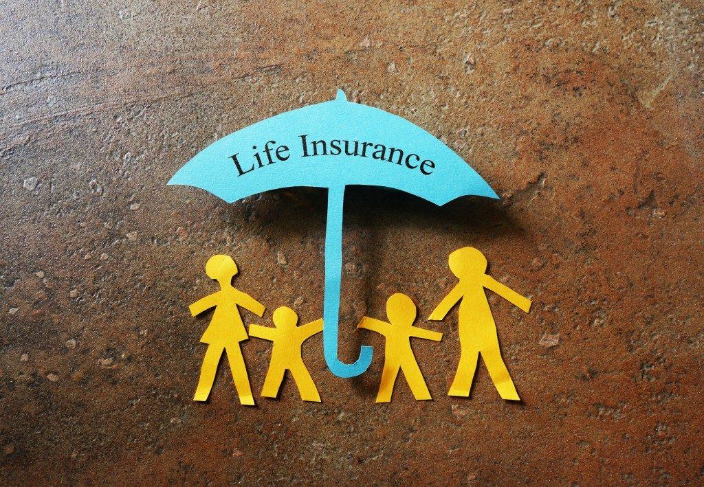 Life Insurance paper cutout