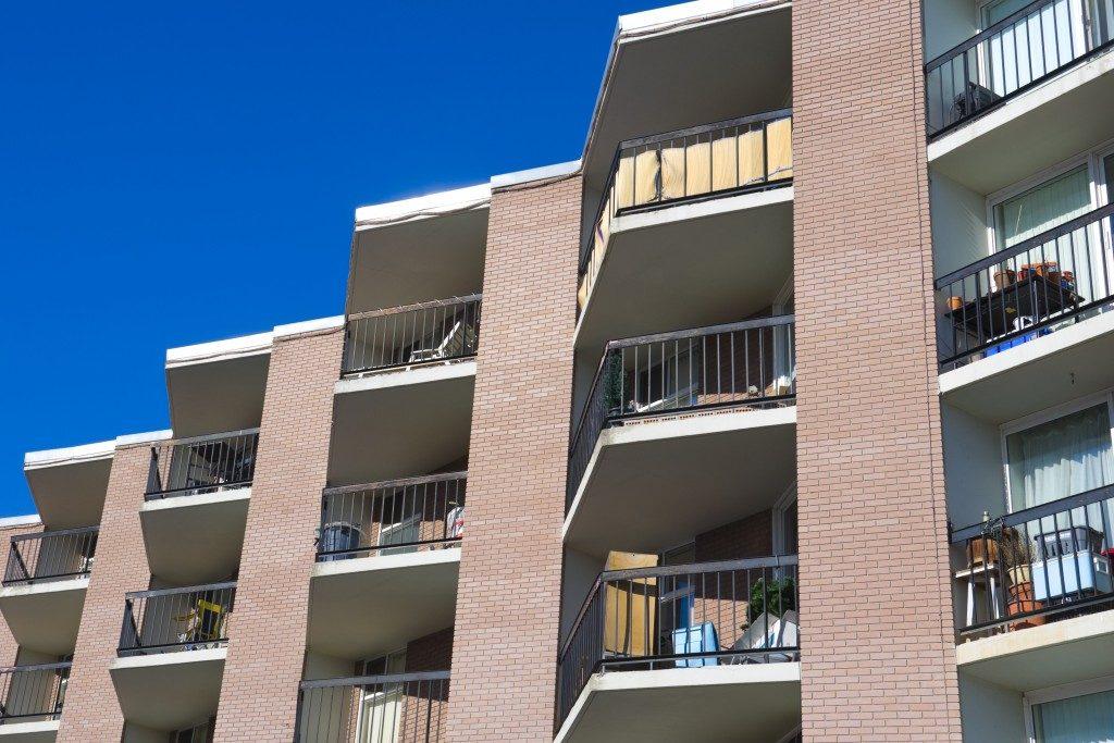 Condominium balcony