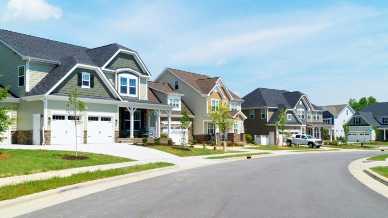 Clean suburban neighbourhood