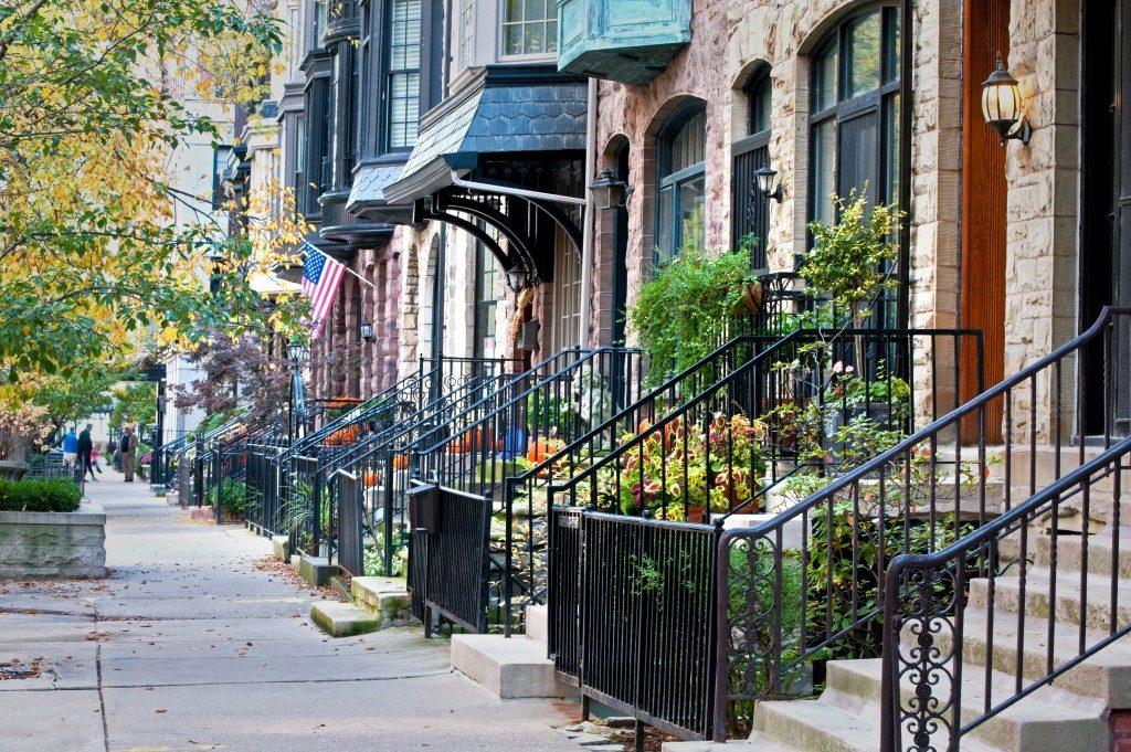 Developed neighborhood