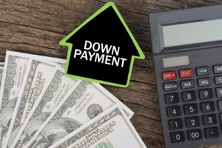 Cash Down Payment
