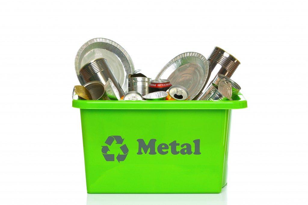 Reusable metal in a box