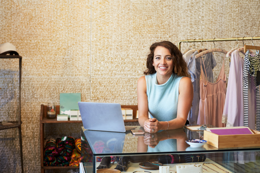 business owner of clothing line