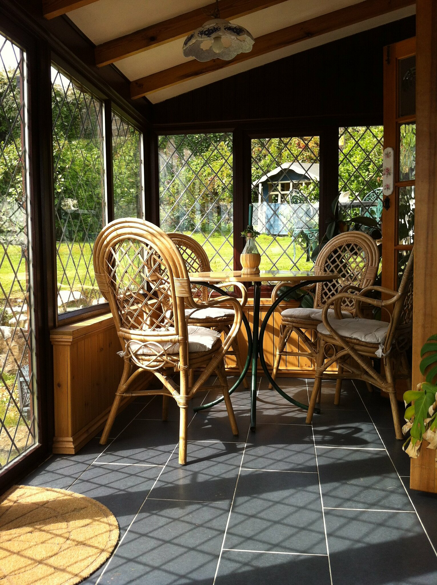 sunroom for guests